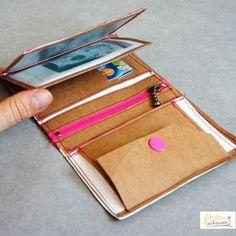 Ebook Geldbörse Nähanleitung Schnittmuster - Schnittmuster und Nähanleitungen bei Makerist