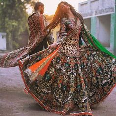 Pakistani couture Ali Xeeshan Amna Babar Bridal Couture Campaign with Hasnain Lehri Pakistani Couture, Pakistani Bridal Dresses, Indian Couture, Indian Dresses, Indian Outfits, Bridal Lehenga, Afghan Clothes, Afghan Dresses, Indian Attire