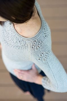 Ravelry: Estelle Pullover pattern by Jennifer Wood