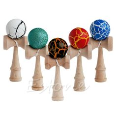 Painted Ball Kendama // Price: $11.95 & FREE Shipping Worldwide //    #boardgame #cardgame #game #puzzle #maze