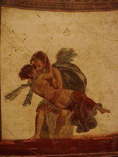 Affresco from Pompei (Italy)