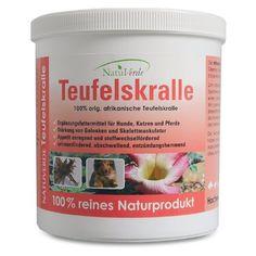 100% reine Teufelskralle, 500 g rter Kauf Teufelskralle ist das einzigste Wunder.- und Heilmittel gegen Arthrose bei Hunden. Sehr empfehlenswer.17,90 euro porto 4.99