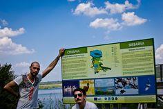All'ingresso della Riserva Naturale di Srebarna, in Bulgaria
