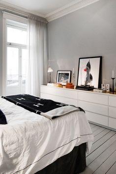 Cómoda malm dormitorio  / 7 productos de IKEA imprescindibles para organizar tu casa #hogarhabitissimo