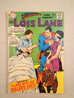 SUPERMAN'S GIRLFRIEND LOIS LANE No. 88 Silver Age Comic 1968 VG+ #LoisLane #Superman #Vintage