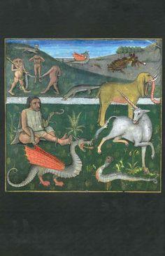 Medieval bestiaries