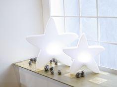 LUMENIO LED Stern maxi und LUMENIO LED Stern mini leuchten um die Wette!