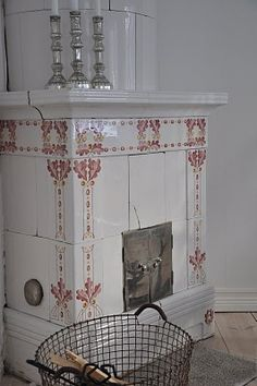 The White Porch: Fireplace