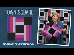 MSQC Tutorial -Town Square Quilt