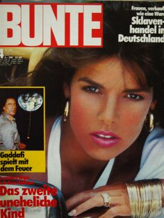 BUNTE - Titelblatt - Nr. 4 vom 1986 - Prinzessin Caroline von Monaco