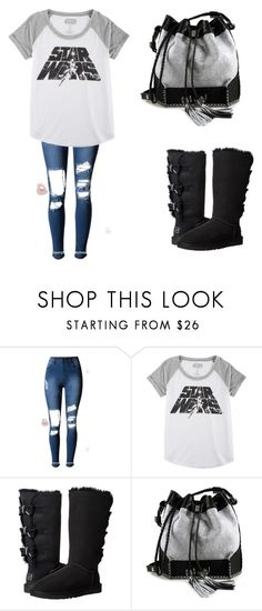 """""""There's no place like home"""" by briezy-2 ❤ liked on Polyvore featuring Hybrid, UGG Australia and Carianne Moore"""