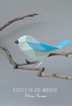 Azulejo de Jardin   paper sculptures by Guardabosques, a creative duo formed by Argentinian designers Caro Silvero y Juan Elizalde.