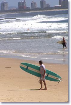 Mooloolaba safe surfing beach - great for beginners