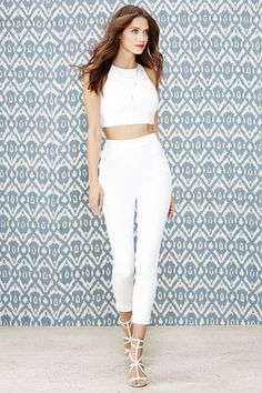 Well-Suited Ivory Two-Piece Set at Lulus.com