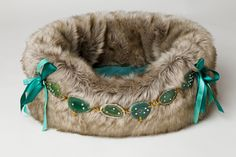 Dubai Green Dog Bed by Lola Santoro - Puppy Kit