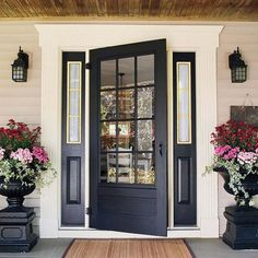 single front door with sidelights -transom photos gallery - Google Search