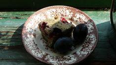 Makový koláč se švestkami Yummy Food, Yummy Recipes, Serving Bowls, Gluten, Pudding, Tableware, Desserts, Tailgate Desserts, Tasty Food Recipes