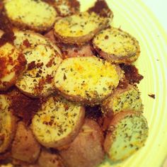 Parmesan Potato recipe; potato side dish, dinner side dish