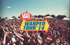 GOING TO VANS WARPED TOUR!!!! SO EXCITED!!!