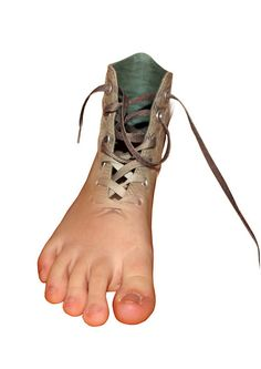 surreal shoe