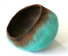 Pet / Dog / Cat Bed / Cave / House / Vessel  Hand Felted Wool