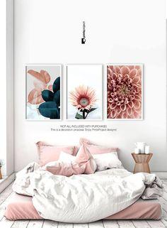 ideas above bed / ideas above bed . ideas above bed decorating . ideas above bed head boards Tropical Bedroom Decor, Tropical Bedrooms, Bedroom Wall Decor Above Bed, Bed Wall, Wall Art Decor, Bedroom Ideas, Decoration Inspiration, Furniture Inspiration, Decor Ideas