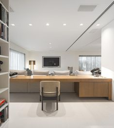 Studio Arthur Casas designed this apartment in Rio de Janeiro, Brazil