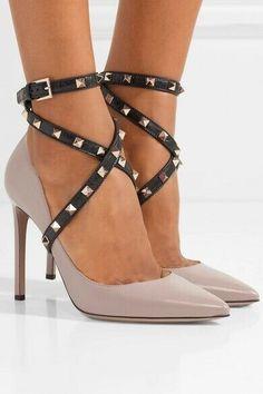 f10b22a8473 ENDING SOON: Valentino Garavani Studwrap Leather Pumps - Size 39 - NWOB  #shoes #