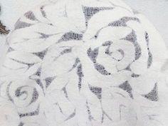 Вариант обработки края шелкового палантина. | Ярмарка Мастеров - ручная работа, handmade