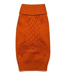 Tory Burch Doggie Sweater. I would so buy this for my baby Zöe!