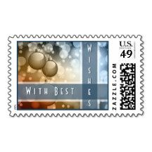 Holiday Ornaments Postage Stamps
