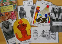 Ancient Egyptian Kings and Queens Pockets