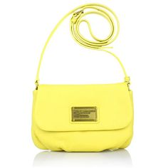 Classic Q Flap Percy Banana Creme - Marc by Marc Jacobs