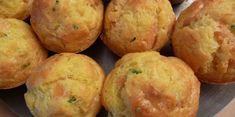 Muffins saumon fumé/ciboulette
