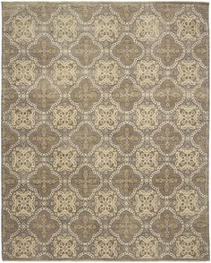 """We just received this beautiful 9'x12' hand-knotted wool rug, """"Mesa"""" in grey! other sizes are available"""