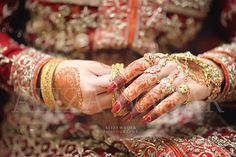 Photography by Aliza waqar Mix bridal hands photography