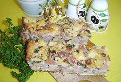 Maminčina velikonoční nádivka European Dishes, Potato Salad, Potatoes, Chicken, Meat, Breakfast, Ethnic Recipes, Lunch Ideas, Essen