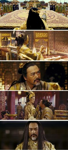 Chow Yun-Fat in Curse of the Golden Flower (2006 - China)