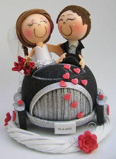 Fofuchas de recien casados