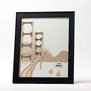Golden Gate Bridge Collage ~Gumps Exclusive
