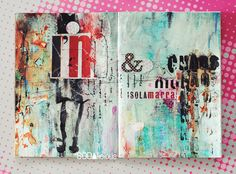 "Rukidelaюt: No10 ► art journal ""CHAOS"""