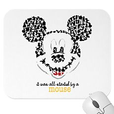 <i>Design By Me</i> Mickey Mouse Mousepad