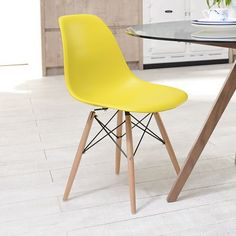 An iconic design which has been a staple of modern interiors for decades is revisited in our Eiffel range. A durable shell, moulded to fit the contours of the body for exceptional comfort, supported by stylish beechwood legs is a classic addition to any contemporary room. Combine with our Eiffel dining table to create the perfect dining space.