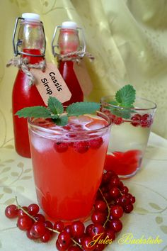 Red-Cassis-Sirup