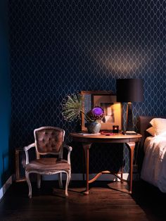 Villa Nicola Amsterdam I Photography by Frank Brandwijk I Styling Anja Koops I 'Blue Bedroom Left Site'