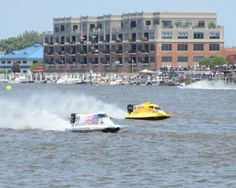 The Annual River Roar draws participants from all over the world ~ Bay City, Michigan