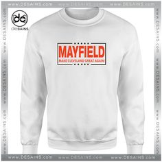 Shake and Bake - Baker Mayfield - Flag Plant - Cleveland Browns Inspired - Unisex  T-Shirt  9209196d3
