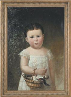 Dora Dean Greiss   Oil on Canvas,1879   James T. Poindexter   Gift of Mrs. Bessie Greiss Seegert, Evansville, Ind.