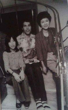 A very young Freddie Mercury