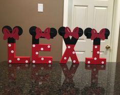 Mickey Mouse Club Custom Name Letters price is by KimsCrafts39